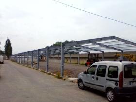 Opláštění hal PUR panely, montáž trapézových plechů Janov okres Svitavy