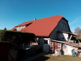 Rekonsrtukce střešního pláště Janov u Litomyšle