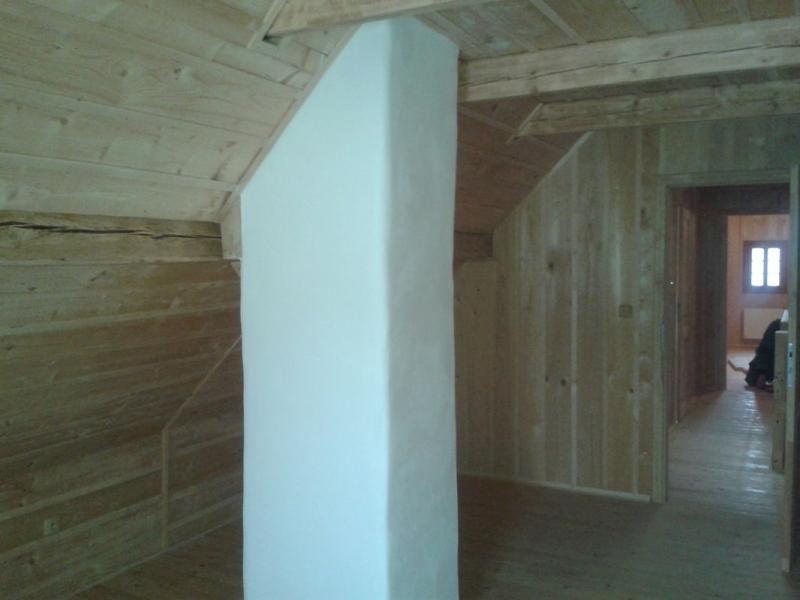 Rekonstrukce roubeného domu Telecí u Poličky okres Svitavy