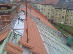 Rekonstrukce střešního pláště pálená taška Česká Třebová